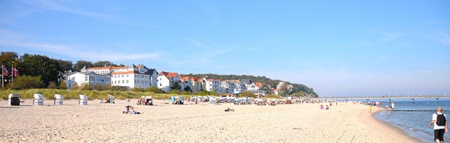 Am Strand von Bansin